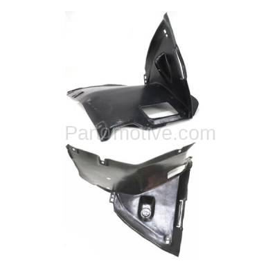 Aftermarket Replacement - IFD-1106L & IFD-1106R 99-06 3-Series Front Splash Shield Inner Fender Liner Panel Left Right SET PAIR - Image 3