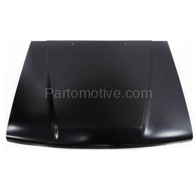 Aftermarket Replacement - HDD-1661 1984-1989 4Runner & 1984-1988 Toyota Pickup Truck (2.4 & 3.0 Liter Engine) Front Hood Panel Assembly Primed Steel - Image 1