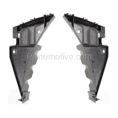 Aftermarket Replacement - BRT-1021FL & BRT-1021FR 10-14 Mustang Front Bumper Cover Retainer Mounting Brace Support Bracket SET PAIR Right Passenger & Left Driver Side Plastic - Image 2