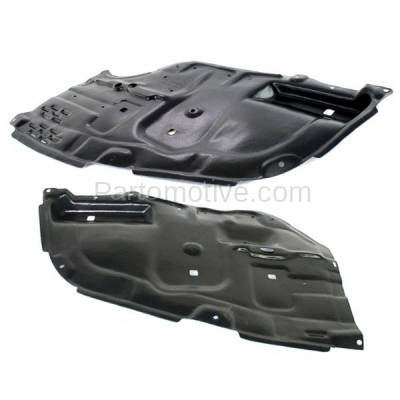 Aftermarket Replacement - ESS-1619L & ESS-1619R 05-10 Avalon Front Engine Splash Shield Under Cover Guard Left & Right SET PAIR - Image 2