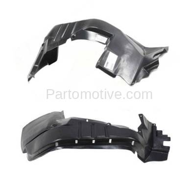 Aftermarket Replacement - IFD-1157L & IFD-1157R 97-01 Cherokee Front Splash Shield Inner Fender Liner Panel Left & Right SET PAIR - Image 2