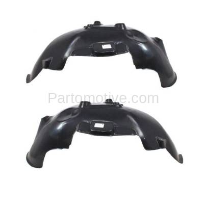 Aftermarket Replacement - IFD-1149L & IFD-1149R 02-09 Ram Truck Front Splash Shield Inner Fender Liner Panel Left Right SET PAIR - Image 2