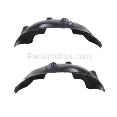 Aftermarket Replacement - IFD-1149L & IFD-1149R 02-09 Ram Truck Front Splash Shield Inner Fender Liner Panel Left Right SET PAIR - Image 3