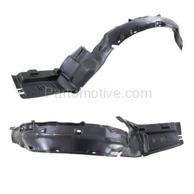 Aftermarket Replacement - IFD-1025L & IFD-1025R 97-99 CL Front Splash Shield Inner Fender Liner Panel Left & Right Side SET PAIR - Image 2