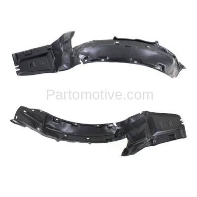 Aftermarket Replacement - IFD-1025L & IFD-1025R 97-99 CL Front Splash Shield Inner Fender Liner Panel Left & Right Side SET PAIR - Image 3