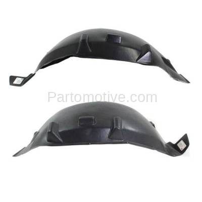 Aftermarket Replacement - IFD-1113L & IFD-1113R 2007-2018 Jeep Wrangler (Rubicon, Sahara, Sport, Sport S, Unlimited, X, X-S) Rear Splash Shield Inner Fender Liner Left Right SET PAIR - Image 3