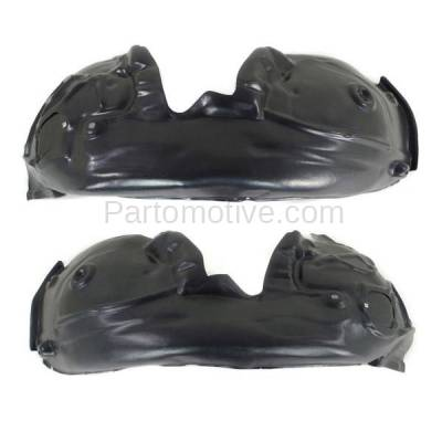 Aftermarket Replacement - IFD-1030L & IFD-1030R 12-17 A6 Front Splash Shield Inner Fender Liner Panel Left & Right Side SET PAIR - Image 2