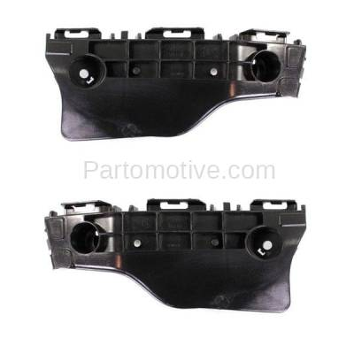 Aftermarket Replacement - BRT-1197FL & BRT-1197FR 2012-2017 Toyota Priuc C 1.5L Front Outer Bumper Cover Retainer Mounting Brace Reinforcement Support Bracket PAIR SET Right & Left Side - Image 1