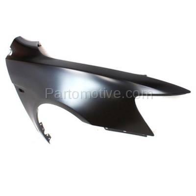 Aftermarket Replacement - FDR-1424R 08-12 Lancer Front Fender Quarter Panel Passenger Side wo-Evo MI1241170 5220C528 - Image 2