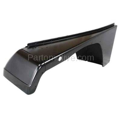Aftermarket Replacement - FDR-1811L 1987-1995 Jeep Wrangler (without Renegade Package) Front Fender Quarter Panel (with Fender Flare Holes) Steel Left Driver Side - Image 2