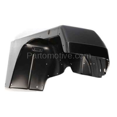 Aftermarket Replacement - FDR-1811R 1987-1995 Jeep Wrangler (without Renegade Package) Front Fender Quarter Panel (with Fender Flare Holes) Steel Right Passenger Side - Image 2