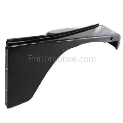 Aftermarket Replacement - FDR-1811R 1987-1995 Jeep Wrangler (without Renegade Package) Front Fender Quarter Panel (with Fender Flare Holes) Steel Right Passenger Side - Image 3