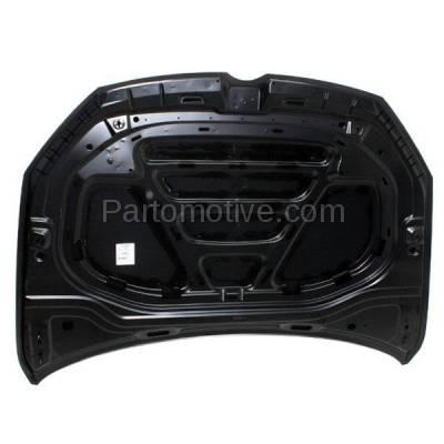 Aftermarket Replacement - HDD-1756 2015-2018 Volkswagen e-Golf & Golf (Alltrack/R/SportWagen) & GTI (Hatchback & Wagon) Front Hood Panel Assembly Primed Steel - Image 3