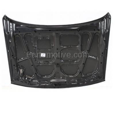 Aftermarket Replacement - HDD-1533 1997-2004 Mitsubishi Montero Sport (ES, Limited, LS, XLS) 2.4 & 3.0 & 3.5 Liter Engine Front Hood Panel Assembly Primed Steel - Image 3
