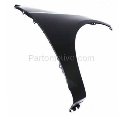 Aftermarket Replacement - FDR-1329R Front Fender Quarter Panel Passenger Side For 10-13 Forte KI1241131 663211M040 - Image 2
