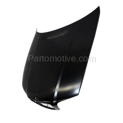 Aftermarket Replacement - HDD-1047 2000-2003 BMW 3-Series 323Ci/323i/323is/325Ci/328Ci/328i/328is/330Ci (Convertible & Coupe 2-Door) E46 Front Hood Panel Assembly Primed Steel - Image 2
