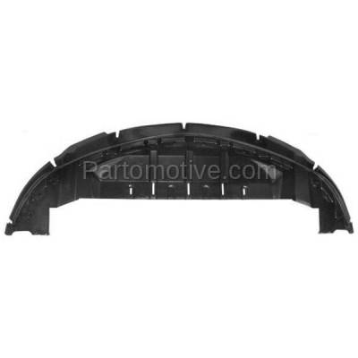 Aftermarket Replacement - ESS-1136C 2010-2019 Ford Taurus & Special Service Police (2.0L & 3.5L) Front Lower Engine Under Cover Splash Shield Undercar Air Deflector Plastic - Image 1