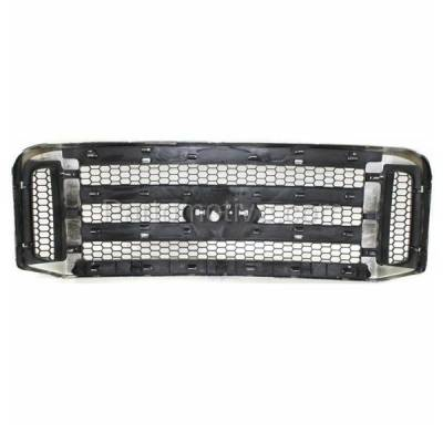 Aftermarket Replacement - GRL-1490C CAPA 05-07 F-Series SuperDuty Truck Front Grill Grille FO1200456 5C3Z8200BAA - Image 3