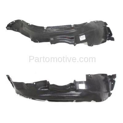 Partslink Number TO1246103 OE Replacement Toyota Corolla Front Driver Side Fender Inner Panel