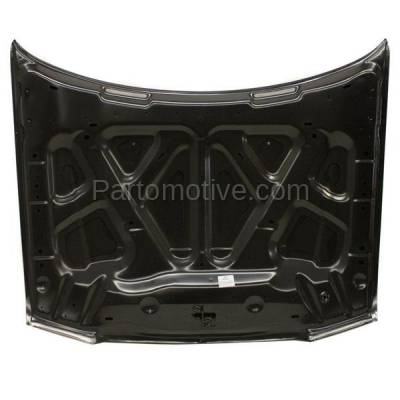 Aftermarket Replacement - HDD-1774 2005-2010 Chrysler 300 (Base, C, C Heritage, C Lujo, C SRT-8, Limited, LX, S, Signature Series, Touring) Front Hood Panel Assembly Primed Steel - Image 2
