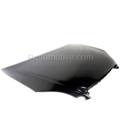 Aftermarket Replacement - HDD-1683 2003-2008 Toyota Matrix (Base, XR, XRS) Wagon 4-Door (1.8 Liter Gas Engine) Front Hood Panel Assembly Primed Steel - Image 2