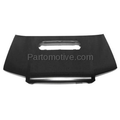 Aftermarket Replacement - HDD-1639 2006-2008 Subaru Forester (2.5 XT, Sports 2.5 XT, XT Limited) 2.5L Turbo (Wagon 4-Door) Front Hood Panel Assembly Primed Steel - Image 1