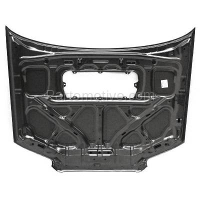 Aftermarket Replacement - HDD-1639 2006-2008 Subaru Forester (2.5 XT, Sports 2.5 XT, XT Limited) 2.5L Turbo (Wagon 4-Door) Front Hood Panel Assembly Primed Steel - Image 3