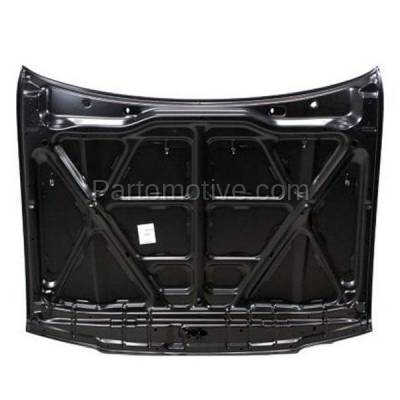 Aftermarket Replacement - HDD-1671 1996-2002 Toyota 4Runner (Base, Limited, SR5) Sport Utility 4-Door (2.7 & 3.4 Liter Engine) Front Hood Panel Assembly Primed Steel - Image 3