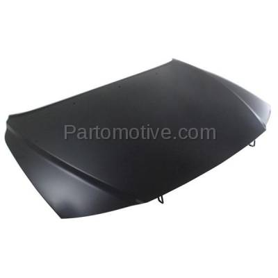Aftermarket Replacement - HDD-1731 2000-2006 Volvo S80 (2.5T, 2.5T AWD, 2.9, T6, T6 Premier) Sedan 4-Door (2.5 & 2.9 Liter Engine) Front Hood Panel Assembly Primed Aluminum - Image 2