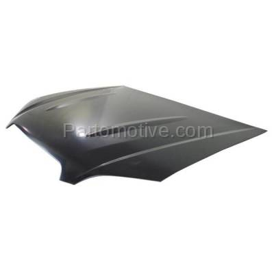 Aftermarket Replacement - HDD-1623 2005-2007 Subaru Outback (2.5i, i, R L.L. Bean Edition, R, R VDC Limited, VDC Limited) Front Hood Panel Assembly Primed Aluminum - Image 2