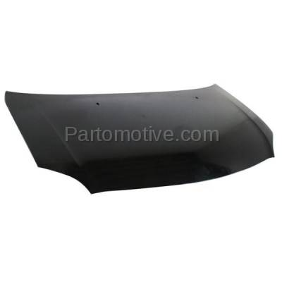 Aftermarket Replacement - HDD-1611 2004-2006 Scion xA (Hatchback 5-Door) (1.5 Liter Engine) Front Hood Panel Assembly Primed Steel with Windshield Washer Nozzle Holes - Image 2