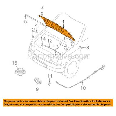 Aftermarket Replacement - HDD-1563 2001-2004 Nissan Frontier Pickup Truck (Base, SC, SE, SVE, XE) 2.4L & 3.3L (Standard, Extended, Crew Cab) Front Hood Panel Assembly Primed Steel - Image 3