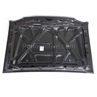 Aftermarket Replacement - HDD-1566 2002-2004 Nissan Xterra (SE, XE) Sport Utility 4-Door (2.4 & 3.3 Liter Engine) Front Hood Panel Assembly Primed Steel - Image 2