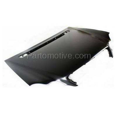 Aftermarket Replacement - HDD-1503 2001-2007 Mercedes-Benz C-Class C230/C240/C280/C320/C350/C32 AMG (4Matic, Base, Kompressor, Luxury, Sport) Front Hood Panel Assembly Primed Steel - Image 2