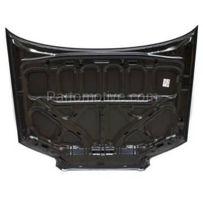 Aftermarket Replacement - HDD-1638 2006-2008 Subaru Forester (Non-Turbo) Wagon 4-Door (2.5 Liter H4 Engine) Front Hood Panel Assembly Primed Steel - Image 3