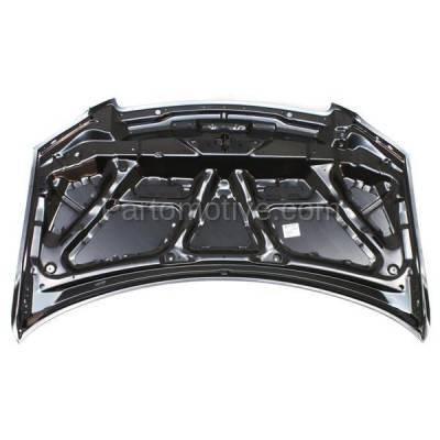 Aftermarket Replacement - HDD-1485 2004-2006 Mazda MPV (ES, LX, LX-SV) Mini Passenger Van 4-Door (3.0 Liter V6 Engine) Front Hood Panel Assembly Primed Steel - Image 3