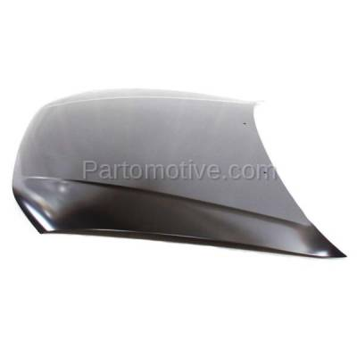 Aftermarket Replacement - HDD-1534 1999-2003 Mitsubishi Galant (DE, ES, GTZ, LS) Sedan 4-Door (2.4 & 3.0 Liter Engine) Front Hood Panel Assembly Primed Steel - Image 2