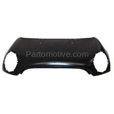 Aftermarket Replacement - HDD-1523 2007-2010 Mini Cooper (Base & Clubman) 1.6 Liter Engine (Convertible & Hatchback & Wagon) Front Hood Panel Assembly Primed Steelx - Image 1