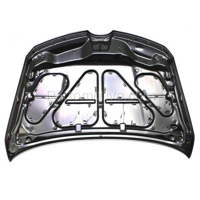 Aftermarket Replacement - HDD-1487 2007-2012 Mazda CX-7 (Grand Touring, GS, GT, GX, Sport. SV, Touring) (2.3 & 2.5 Liter Engine) Front Hood Panel Assembly Primed Steel - Image 3