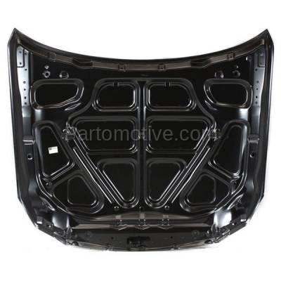 Aftermarket Replacement - HDD-1420 2006-2010 Infiniti M35 & M45 (Base, Sport, X) Sedan 4-Door (3.5 & 4.5 Liter V6/V8 Engine) Front Hood Panel Assembly Primed Aluminum - Image 3