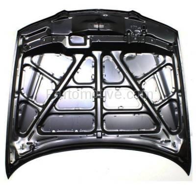 Aftermarket Replacement - HDD-1475 1996-1997 Mazda 626 (DX, ES, LX) Sedan 4-Door (2.0 & 2.5 Liter Engine) Front Hood Panel Assembly Primed Steel - Image 3