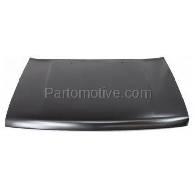 Aftermarket Replacement - HDD-1425 1991-1997 Isuzu Rodeo/Amigo/Pickup Truck & 1994-1997 Honda Passport (1 Ton, DX, EX, LS, LX, S, XS) Front Hood Panel Assembly Primed Steel - Image 1