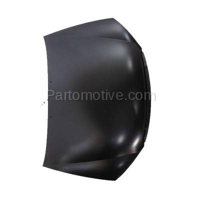 Aftermarket Replacement - HDD-1439 2004-2009 Kia Spectra & 2005-2009 Spectra5 (Base, EX, GS, GSX, LS, LX, SX) Hatchback & Sedan Front Hood Panel Assembly Primed Steel - Image 2