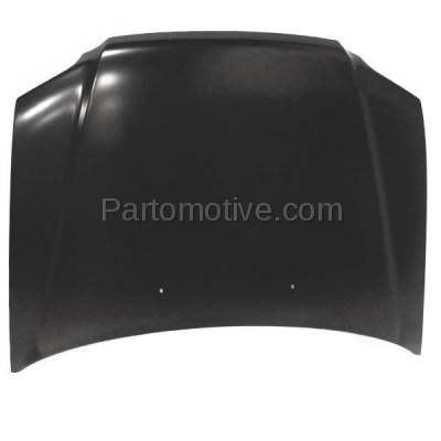 Aftermarket Replacement - HDD-1338 1997-2001 Honda CR-V (EX, LX, SE) Sport Utility 4-Door (2.0 Liter Engine) Front Hood Panel Assembly Primed Steel - Image 2
