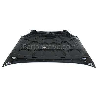 Aftermarket Replacement - HDD-1391 1999-2001 Hyundai Sonata (Base, GLS) Sedan 4-Door (2.4 & 2.5 Liter Engine) Front Hood Panel Assembly Primed Steel - Image 3