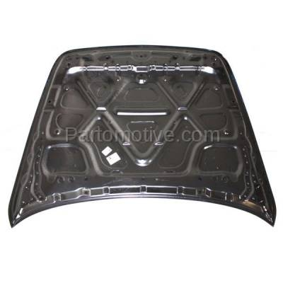 Aftermarket Replacement - HDD-1422 2007-2013 Infiniti G25/G35/G37 & 2015 Q40 (Base, Journey, Sport, X) (4-Door Sedan) Front Hood Panel Assembly Primed Steel - Image 3