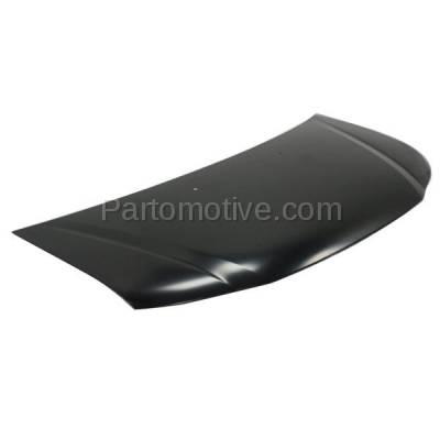 Aftermarket Replacement - HDD-1376 2014-2017 Honda Odyssey (EX, EX-L, LX, SE, Touring, Touring Elite) Passenger Van 3.5L Front Hood Panel Assembly Primed Aluminum - Image 2