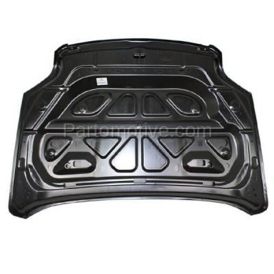 Aftermarket Replacement - HDD-1307 2010-2015 GMC Terrain (Denali, SL, SLE, SLT) Sport Utility 4-Door (2.4 & 3.0 & 3.6 Liter Engine) Front Hood Panel Assembly Primed Steel - Image 2