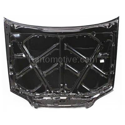 Aftermarket Replacement - HDD-1340 1998-2002 Honda Accord (EX, LX, SE) Coupe 2-Door (2.3 & 3.0 Liter Engine) Front Hood Panel Assembly Primed Steel - Image 2
