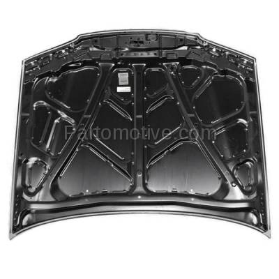 Aftermarket Replacement - HDD-1336 1996-1997 Honda Accord (DX, EX, EX-R, LX, Value Package) Coupe, Sedan, Wagon (2.2 Liter Engine) Front Hood Panel Assembly Primed Steel - Image 3